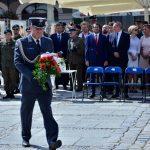 Rektor-Komendant WSKiP w Warszawie ppłk dr Marcin Strzelec uczestniczył w obchodach 80. rocznicy wybuchu II Wojny Światowej.